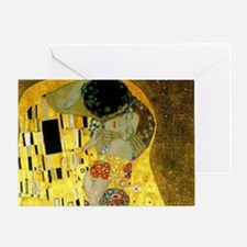 The Kiss by Klimt Greeting Card