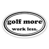 Golf Stickers & Flair