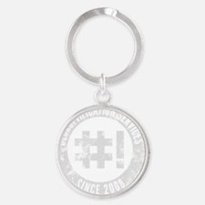 Decruftification Services Round Keychain