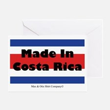made-in-costa-rica Greeting Card