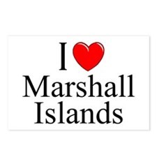 """I Love Marshall Islands"" Postcards (Package of 8)"