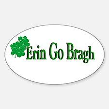 Erin Go Bragh Oval Decal