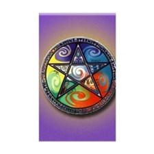 pentacle elements i-phone slid Decal