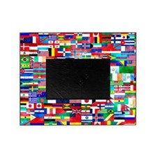 Flag Collage Picture Frame