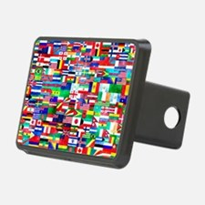 Flag Collage Hitch Cover