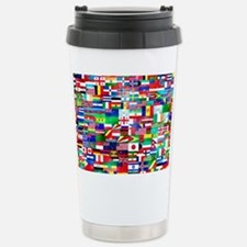 Flag Collage Travel Mug