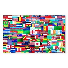 Flag Collage Decal