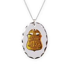 FBI badge Necklace