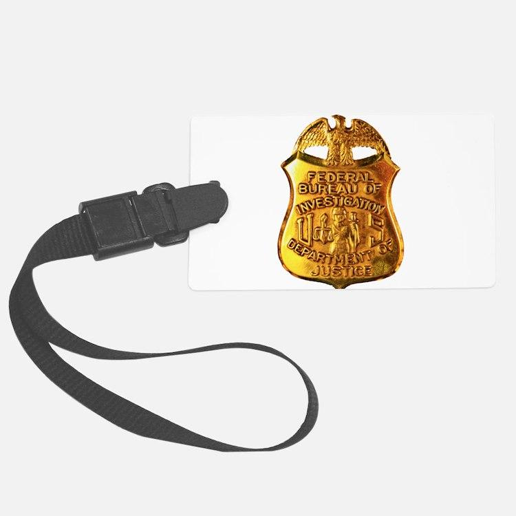 FBI badge Luggage Tag
