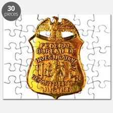FBI badge Puzzle