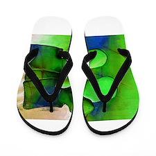 Lumbar Green 1 Flip Flops