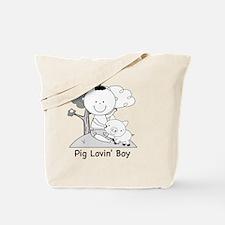 pig lovin boy-001 Tote Bag