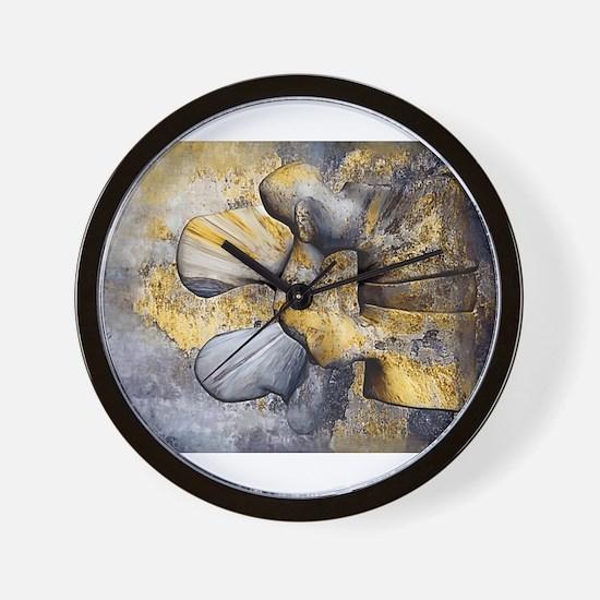 Lumbar Stone Wall Clock