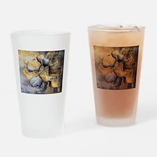 Lumbar Stone Drinking Glass