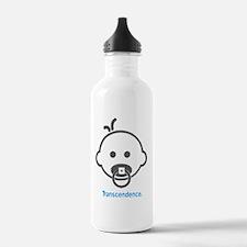 Yoga_Transcendence_Blu Water Bottle