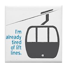 Snowsports_Lift_Lines_Blue Tile Coaster