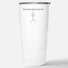 thin Stainless Steel Travel Mug
