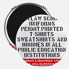 SLU_outlaw_school_uniforms Magnet