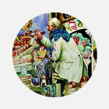 Kustodiev: Painter of Signboards, p Round Ornament