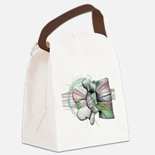 lumbar 17 Canvas Lunch Bag