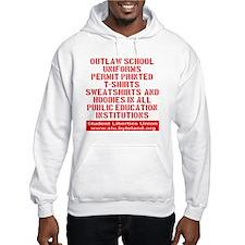 SLU_outlaw_school_uniforms_trans Hoodie