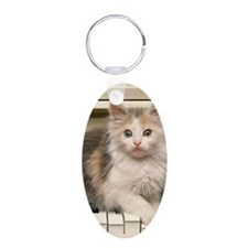 Piano kitty slider Keychains