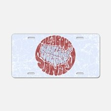 all-about-sanity-OV Aluminum License Plate