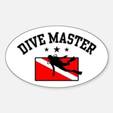 Dive Master Decal