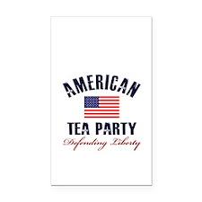 American-Tea-Party Rectangle Car Magnet