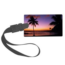 poipu_sunset Luggage Tag