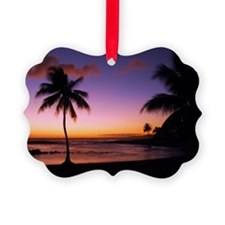 poipu_sunset Picture Ornament