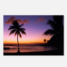 poipu_sunset Postcards (Package of 8)