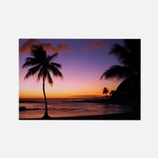 poipu_sunset Rectangle Magnet