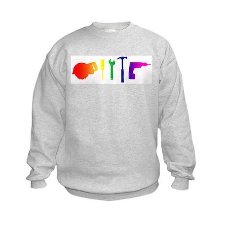 Tools Kids Sweatshirt
