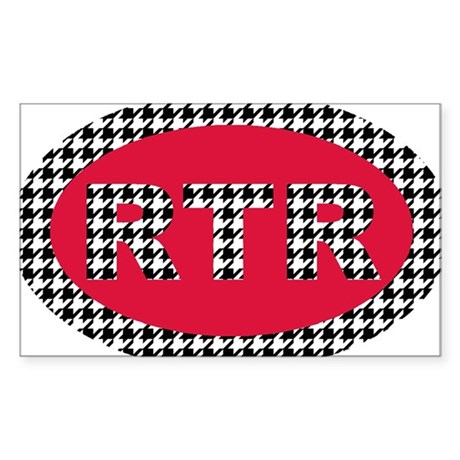 RTR Sticker (Rectangle)