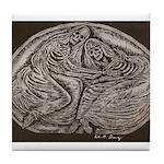 Eternal Embrace Tile Coaster
