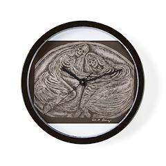 Eternal Embrace Wall Clock