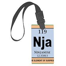 ninjanium-BUT Luggage Tag