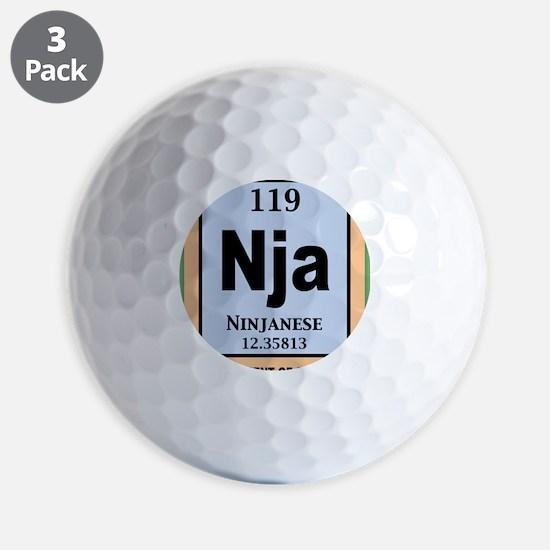 ninjanium-BUT Golf Ball