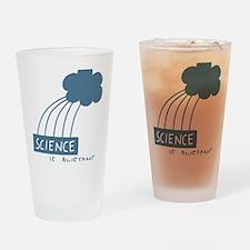 ScienceIsAwesome_dark Drinking Glass