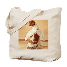 brittany angel mouse pad Tote Bag