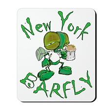 barflynew york Mousepad