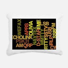 HamModes Rectangular Canvas Pillow