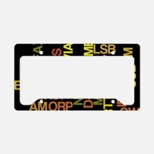 HamModes License Plate Holder