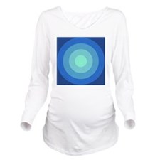 Ocean Long Sleeve Maternity T-Shirt