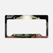 Pi_47 No Limit Poker (6.55x4. License Plate Holder