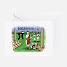 Pi_48 Caesar Ides of March (17.5x11. Greeting Card