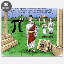 Pi_48 Caesar Ides of March (17.5x11.5 Color Puzzle