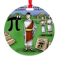 Pi_48 Caesar Ides of March (11.5x9  Ornament