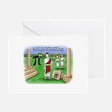 Pi_48 Caesar Ides of March (11.5x9 C Greeting Card